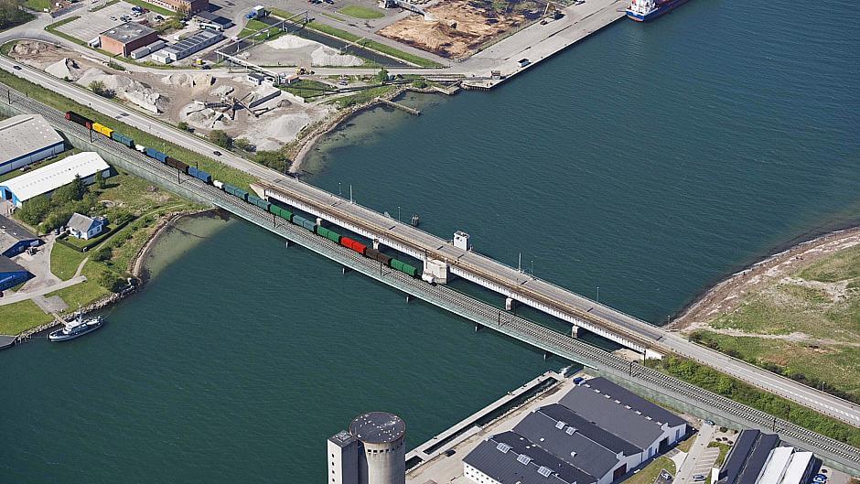 Ny bro over Masnedsund
