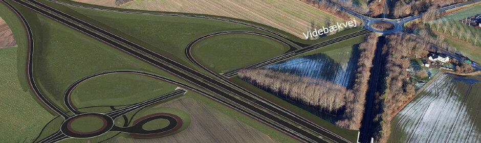 Tværvej og Frederikssundsmotorvej