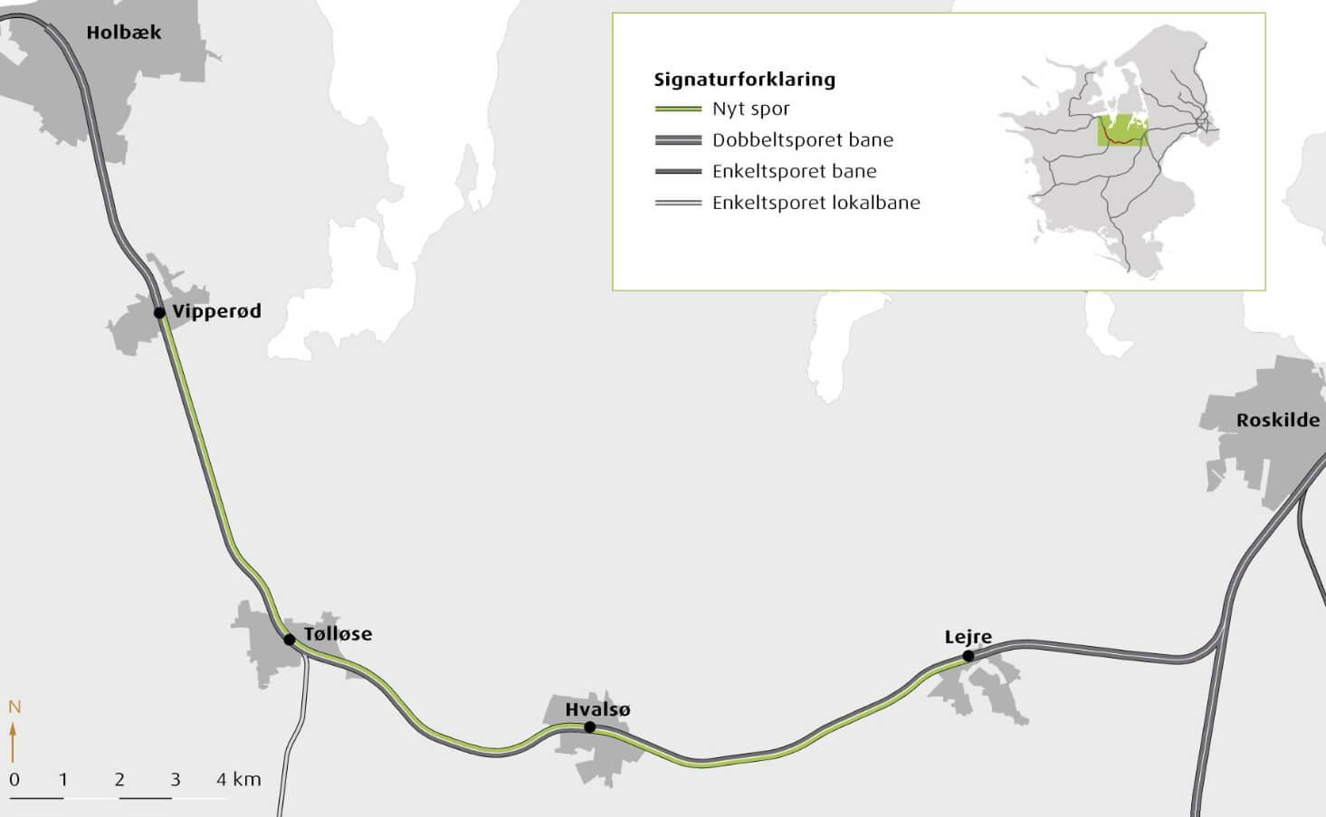 Udbygning af Nordvestbanen